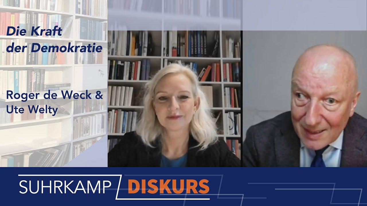 Roger de Weck und <i>Die Kraft der Demokratie</i> –<i> DISKURS</i> #7