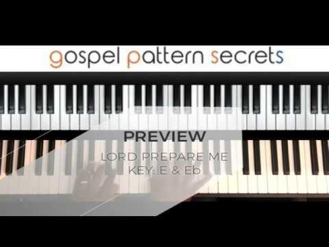 Lord Prepare Me(Piano Tutorial)