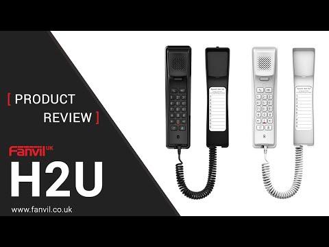Fanvil H2U Hotel IP Phone Review