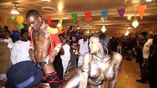 HONEE GARCON VS ZAYAH EBONY SEX SIREN  @MIDWEST AWARDS BALL 2015
