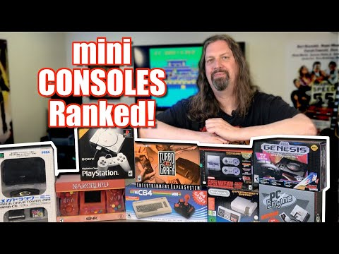 All 7 Mini Consoles ranked BEST & WORST