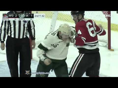 Cody McLeod vs. Dmitry Osipov