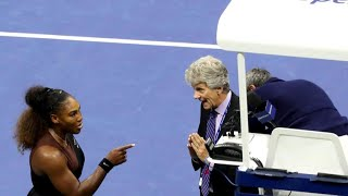 Serena Williams' penalties at U.S. Open sparks growing outrage