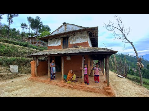 Simple and Happy Rural lifestyle in Nepal | Rural life in Nepal | Traditional life in Village Nepal
