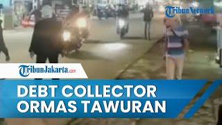 Tawuran Debt Collector vs Ormas di Tangerang, Berawal dari Penagih Utang Tarik Mobil Anggota Ormas