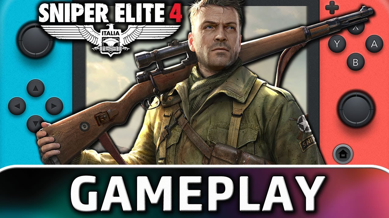 Sniper Elite 4 | Nintendo Switch Gameplay