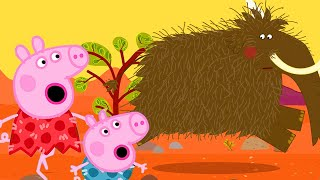 Peppa Pig Official Channel   What Happened to Stone Age Peppa Pig?