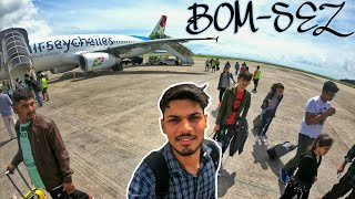 My Seychelles Airline Experiance |  MUMBAI-SEYCHELLES | Fly With Sky