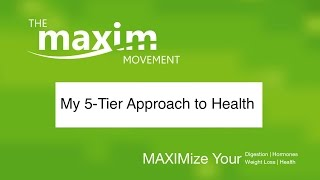 5 Tiers to MAXIMized Health