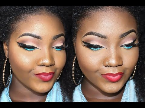 MAKEUP TUTORIAL: POP OF COLOUR!