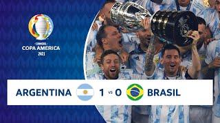 HIGHLIGHTS ARGENTINA 1 - 0 BRASIL | COPA AMÉRICA 2021 | 10-07-21