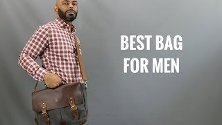 The Best Bag For Men/The Messenger Bag