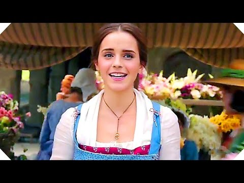 BEAUTY AND THE BEAST - First 5 Minutes + ALL Blu Ray Clips & Trailer (Bonus, 2017)