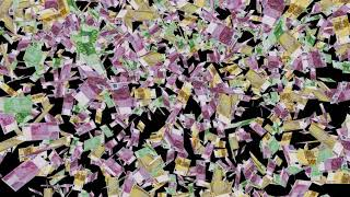 Billions of EUROS   Euros, currency, bills   currency falling   paper currency   European currency