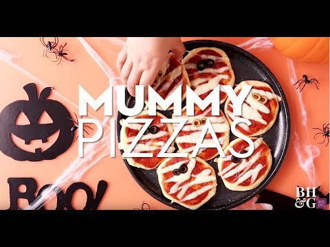 Mummy Pizzas | Fun With Food | Better Homes & Gardens