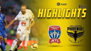HIGHLIGHTS | Newcastle Jets Vs Wellington Phoenix