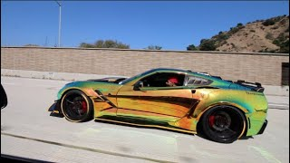 COCKY Corvette Owner Destroyed By 900HP EVO!