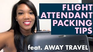 My Favorite Flight Attendant Packing Tips