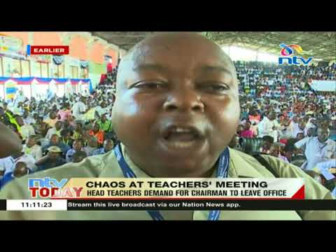 Chaos rock head teachers' meet in Mombasa