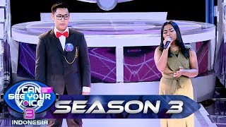 Duet Terbaik!! Maria Idol feat MISTER CULUN [KAMU YG KU TUNGGU] - I Can See Your Voice (23/6)