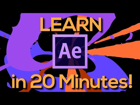 LEARN AFTER EFFECTS IN 20 MINUTES! – Tutorial for beginners