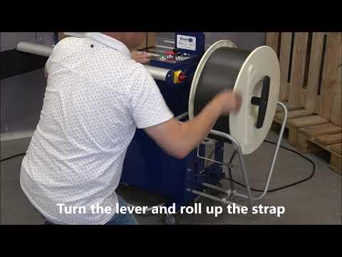 Ampag Boxer II: Removing strap