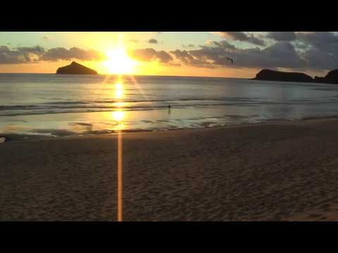 Sunrise and mellow swells at Blinky Beach