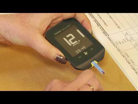 Asins analīzes bioķīmija insulīna