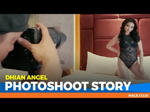 DHIAN ANGEL di Behind the Scenes Photoshoot - Male Indonesia | Model Hot Indo