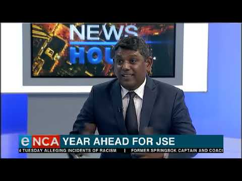 So what's the view ahead for the JSE?