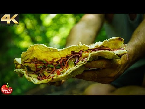 WORLD'S BIGGEST TACO – PRIMITIVE COOKING FOODPORN