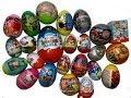 24 Surprise Eggs Maxi Kinder Surprise Cars Thomas Iron Man Marvel Angry ...