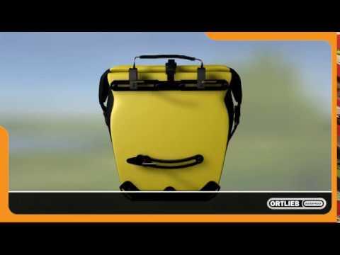Ortlieb Back-Roller City cykeltasker 2 stk. Rød video
