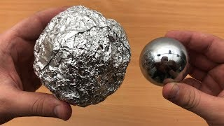 DIY Mirror Polished Japanese Aluminum Foil Ball - Video Youtube