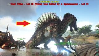 ARK: Survival Evolved #5 - Chọc Thằn lằn gai Spinosaurus và Cái kết =))