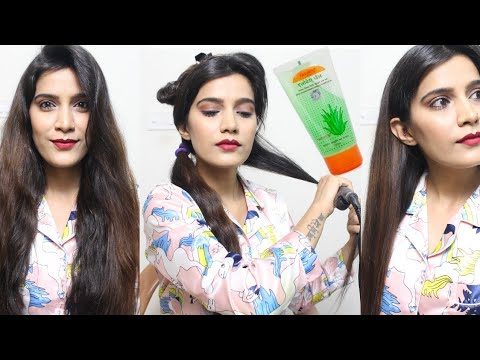 (हिंदी) How to Straighten Your Hair With a Hair Straightener/ Flat Iron| Super Style Tips