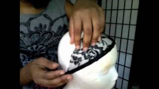 How to Make a Half Wig Part 1: Making the Wig Cap