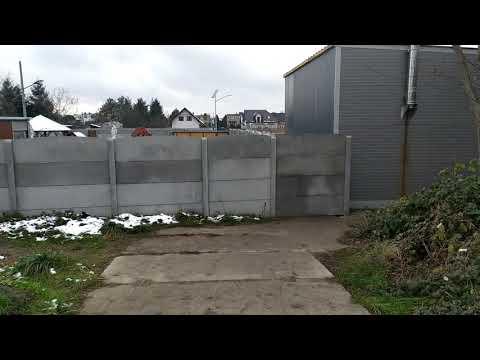Wideo1: Tymczasowe przejście do Masłowa zamknięte