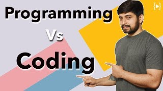 What is better programming or coding