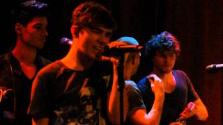 The Wanted - Gold Forever & Warzone (Live on 1/17/2012)