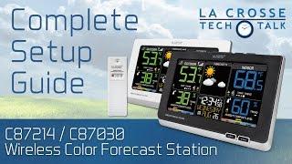 C87214 & C87030 Complete Setup Guide