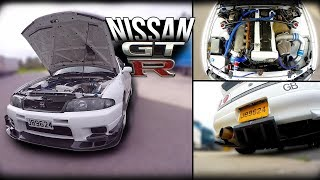 +700cv Nissan Skyline GT-R 33  - GODZiLLA CHEGOU - Portugal Stock and Modified Car Reviews