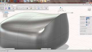 Creating Sharp Edges on a Sculpted Body in Fusion 360