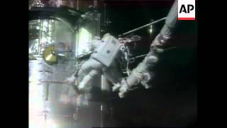 NASA: DISCOVERY SHUTTLE SPACE WALK (2)