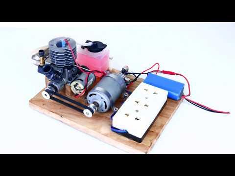 How to make 220V Generator dynamo at Home