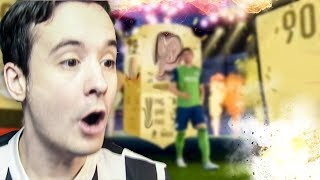 I PACK A 90 RATED WALKOUT - FIFA 18 ULTIMATE TEAM PACK OPENING