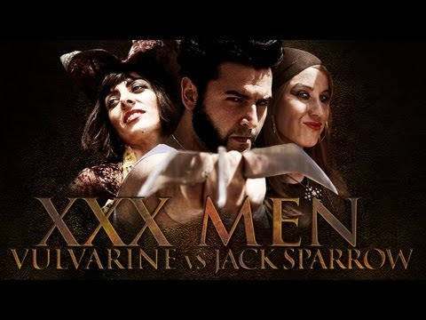 XXX MEN 2 - VULVArine vs Jack Sparrow