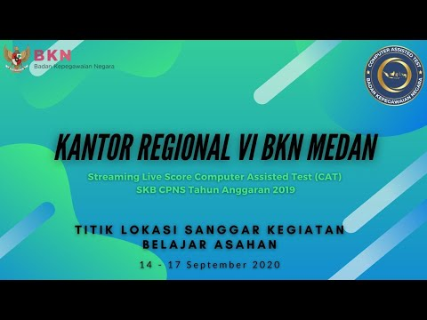 Live Score SKB CPNS Tilok Sanggar Kegiatan Belajar Asahan (16 September 2020)
