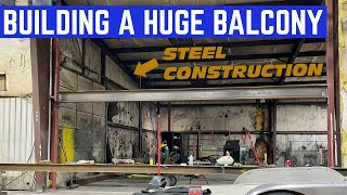Adding A SECOND LEVEL To The BIGGEST Automotive Shop On YouTube