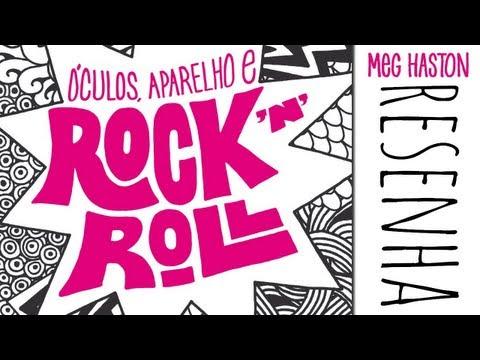 Resenha Óculos, Aparelho e Rock N Roll - Meg Haston [Chiclete Violeta]